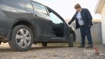 Calgary woman shocked and confused over theft of car door