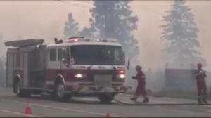 Fires burning out of control in BC's Okanagan