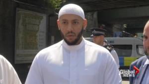 London imam condemns 'barbaric' mosque attack (01:09)