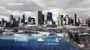 Edmonton early morning weather forecast: Tuesday, November 6, 2018