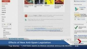 BIV: Effects of new anti-spam legislation