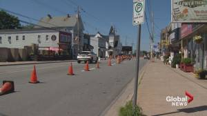 Businesses on Quinpool Road say construction is hurting sales