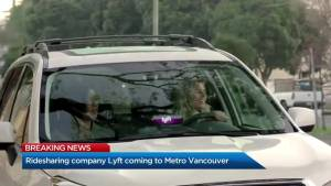 Lyft applying to operate in Metro Vancouver
