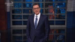 Colbert to Sanders on not wanting to talk about immigration policies: 'You could resign.'