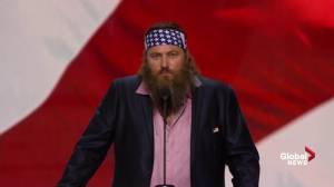 'Donald Trump will have your back': Duck Dynasty's Willie Robertson talks at RNC