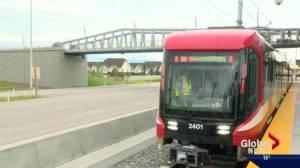 Calgary unveils Mask CTrain cars