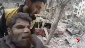 UN pleads for Syrian truce to avert 'massacre' as strikes hit rebel area of Damascus for 5th day
