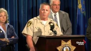 Stephen Paddock 'solely responsible', no second shooter: police