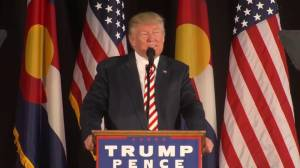 Trump says his business, family, temperament is under attack amid 'false stories'