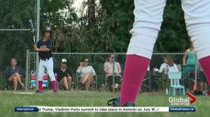 Meet the first all-girls baseball team to play in boys' league in central Alberta