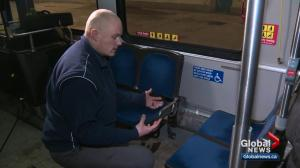 Edmonton bus driver saves homeless man from the cold
