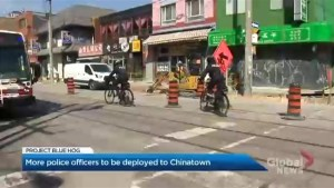 More police will be patrolling Toronto's Chinatown neighbourhood