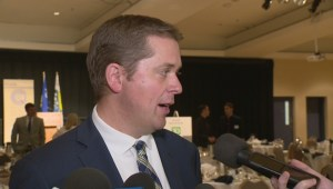 Andrew Scheer delivers remarks in Regina on corporate and small business taxes