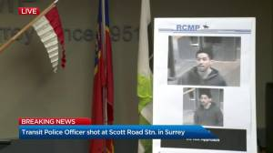 RCMP say officers engaged with suspect in SkyTrain shooting and were met by gunfire