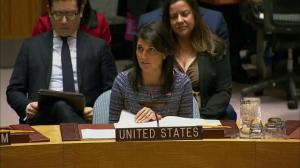 Nikki Haley says North Korea sanctions show 'further defiance will invite further punishment'
