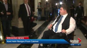 Kent Hehr's constituents have mixed reactions to resignation, sexual harassment allegations