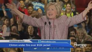 Hillary Clinton wears $12,000 jacket during a speech about inequality