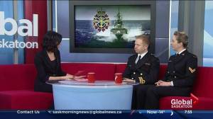 HMCS Unicorn open house