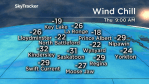 Saskatoon weather outlook: -30 wind chills move out, more snow on the way
