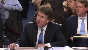 Kavanaugh asked question about whether a president can fire a prosecutor investigating them