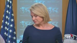 State Department says U.S.- North Korea relations in 'a good position' from a year ago