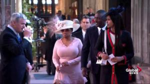 Royal Wedding: Oprah Winfrey and Idris Elba arrive for royal wedding