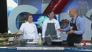 Calgary chef takes on Canada in culinary competition