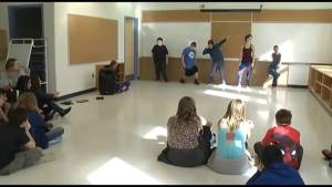 Two Kingston schools come together to build a community through dance