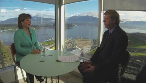 Keith Baldrey One-on-One with Christy Clark