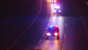 First responders line Highway 1 in tribute to fallen APD officer