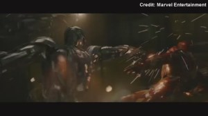 Iron Man fights Ultron in new 'Avengers' clips