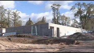 Update on progress at future home of Hospice Peterborough