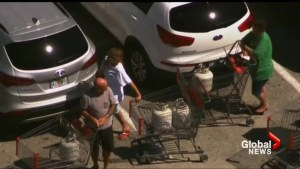Florida residents stock up on supplies as Hurricane Matthew approaches
