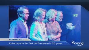 ABBA reunite for first performance in 30 years