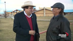 Familiar face elected Chief of the Blood Tribe