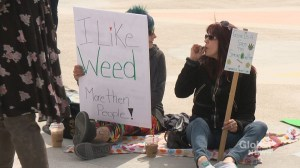 Calgarians mark 4/20 as marijuana legalization looms