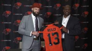 It's official! Mike Reilly is a BC Lion