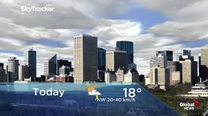 Edmonton early morning weather forecast: Monday, June 10, 2019
