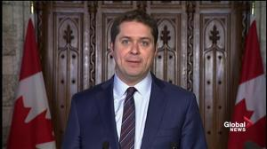 Scheer calls on Trudeau to repay expenses from Aga Khan vacation