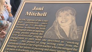Joni Mitchell honoured in Saskatoon