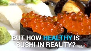 Can Sushi really be considered 'healthy'?