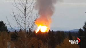 Pipeline explosion near Prince George forces dozens to be evacuated from First Nations community