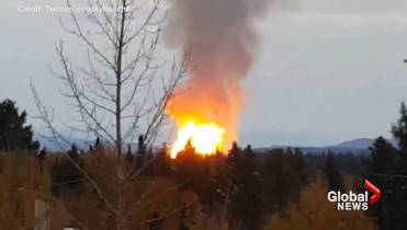 Pipeline explosion near Prince George forces about 100 evacuations