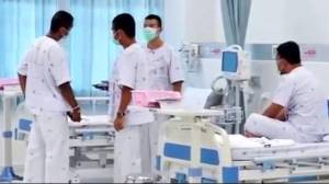 Thai boys recovering in hospital after incredible cave rescue