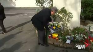 UN chief Guterres makes Ramadan visit to Christchurch (01:21)