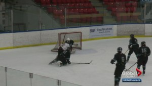 Hockey Calgary playoffs: Midget 4 North West Warriors vs. SVHA Storm