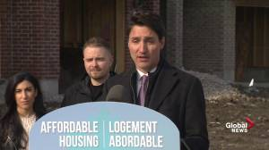 Justin Trudeau outlines incentives for first-time home buyers