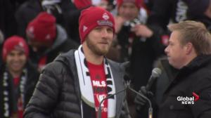 Toronto FC's Michael Bradley says MLS Cup 'our dream, our obsession' to win for Toronto