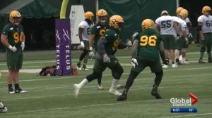 Eskimos get ready for Labour Day Classic against Stampeders
