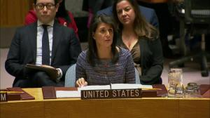 Haley details latest North Korea sanctions, reiterates call for nations to cut support